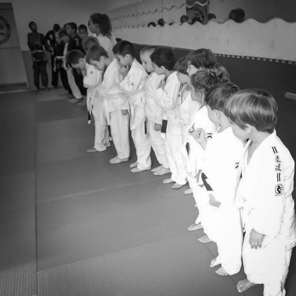 Enfants du Club Etienne claude Jiu Jitsu brésilien